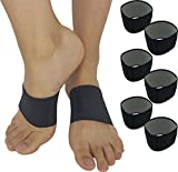 Plantar Fasciitis Brace Arch Supports - Arch Brace for Foot & Heel Pain Relief. Compression Sleeves...