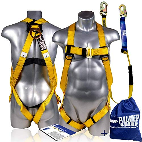 Palmer Safety Fall Protection Safety Harness...