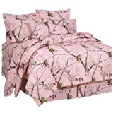 Realtree AP Pink Comforter Set, Full by Realtree
