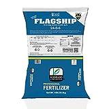 24-0-6 Flagship Granular Lawn Fertilizer with 3% Iron, Bio-Nite, 45 lb bag covers 15,000 sq ft, 6% Potassium, Micronutrients and 24% Slow Release Nitrogen