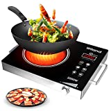 Portable Induction Cooktop induction stove Countertop Burner, 2200 W 120-Volts Induction Cooker with...