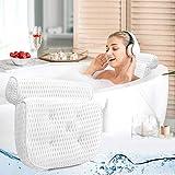 Ergonomique bain oreiller avec le cou et le dos Support - Oreillers Baignoire...