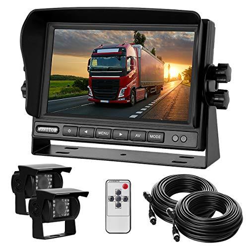 Dual-Rückfahrkamera-Set mit 7' TFT LCD Kfz-Monitor &...