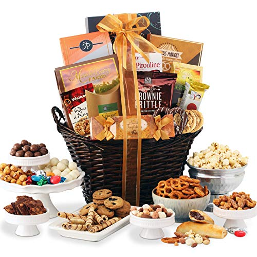 Broadway Basketeers Kosher Chocolate & Sweets Thinking of You Gourmet Gift Basket