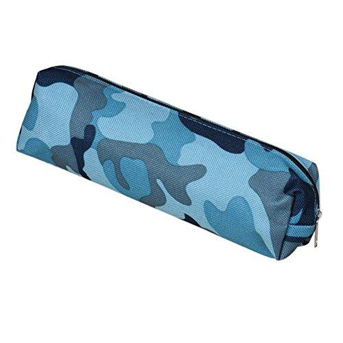 Rmoon Astuccio Scuola Grande Capacit Astuccio Matite Portapenne Scuola Pencil Case Per Stationery Bag Astuccio Portamatite Grande Capacit Vento Mimetico (A)