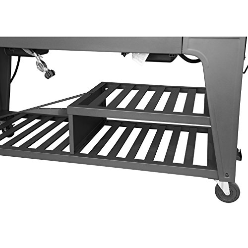 Product Image 8: Royal Gourmet GB8000 8-Burner Liquid Propane Event Gas Grill, BBQ, Picnic, or Camping Outdoor, Black