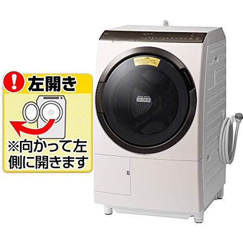 日立 【左開き】11.0kgドラム式洗濯乾燥機 ビッグドラム ロゼシャンパン BD-SX110FL N