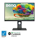 BenQ PD2700U 27 inch 4K IPS HDR Monitor with 100% sRGB & Rec. 709 and AQCOLOR Accurate Color
