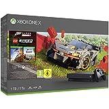 Xbox One X 1TB inkl. Netzteil & HDMI-Kabel Xbox Wireless Controller in schwarz Forza Horizon 4 (digitale Vollversion) LEGO Speed Champions Erweiterung (digitale Vollversion) 1-monatige Testversion Xbox Game Pass