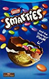 Smooth milk chocolate egg filled with smarties SMARTIES are a colourful and tasty treat Coloured by nature - from food and plant extracts only Please Note This is a British Product and the Expiry Date will be in UK format DAY-MONTH-YEAR