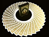 BICYCLE METALLUXE GOLD Limited Edition Cards By JOKARTE COLLECTORS Cartes à...