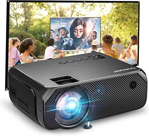 Proiettore Portatile WiFi, BOMAKER Mini Videoproiettore Wireless 6000 Lumen Risoluzione Nativa 720P Supporto Full HD...