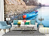 RECETHROWS Wall Mural Racing Stand up Paddleboard by Starboard Peel and Stick Wallpaper Self Adhesive Wallpaper Large Wall Sticker Removable Vinyl Film Roll Shelf Paper Home Decor