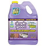 Simple Green Oxy Solve Concrete and Driveway Pressure Washer Cleaner - Removes Stains from Mold, Mildew and Oil on Garage Floors, Sidewalks, Walkways & Driveways - Concentrate 1 Gal.
