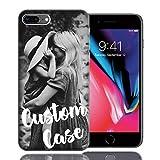 MUNDAZE Design Your Own iPhone Case, Personalized Photo Phone case for iPhone 8 Plus/iPhone 7 Plus - Perfect Custom Case (iPhone 8 Plus)