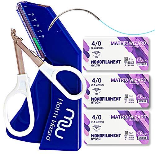 Disposable Skin Stapler with 55 Preloaded Wires Plus Stapler...