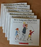 We're Going on a Bear Hunt By Michael Rosen Classroom Reading Set of Six Paperback Books