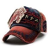 wopiaol Sombreros con Visera Sombreros Europeos y Americanos para Hombres y Mujeres Uñas de Sauce Letras Casuales Gorras de béisbol Gorras para Exteriores desgastadas