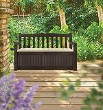 Koll Living Garden Gartenbank mit 265 Liter Stauraum - 3