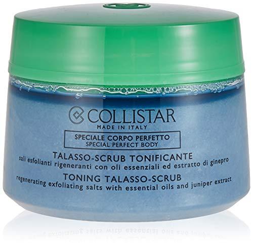 Collistar Talasso-Scrub Tonificante, Con sali marini e il Fior di Sale della Sardegna, Lascia la pelle levigata e perfettamente idratata, Per tutti i tipi di pelle, 700g
