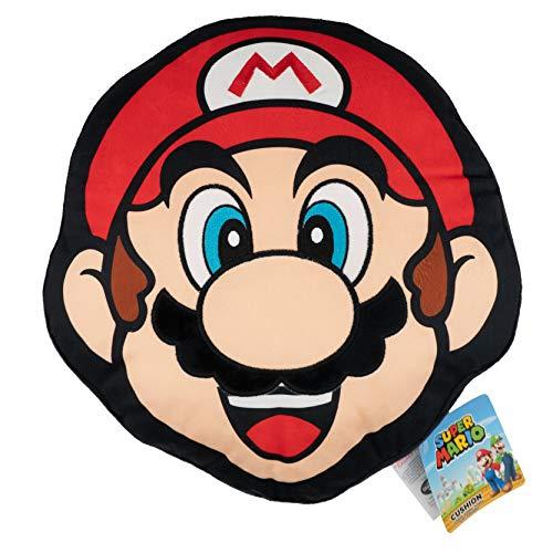 Super Mario Cojín Almohada | Producto Oficial de Nintendo Classic Mario Design