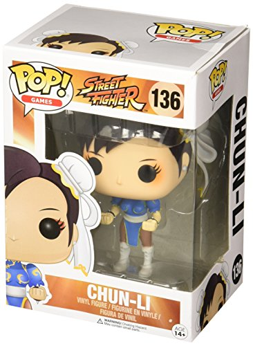 Pop! Games: Street Fighter Chun-li #136