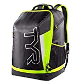 TYR Apex Transition Bag, Black/Full Yellow, Medium