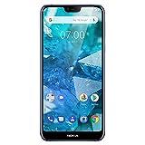 Nokia 7.1 - Android 9.0 Pie - 64 GB - Dual Camera - Dual SIM Unlocked Smartphone (Verizon/AT&T/T-Mobile/MetroPCS/Cricket/H2O) - 5.84' FHD+ HDR Screen - Blue - U.S. Warranty