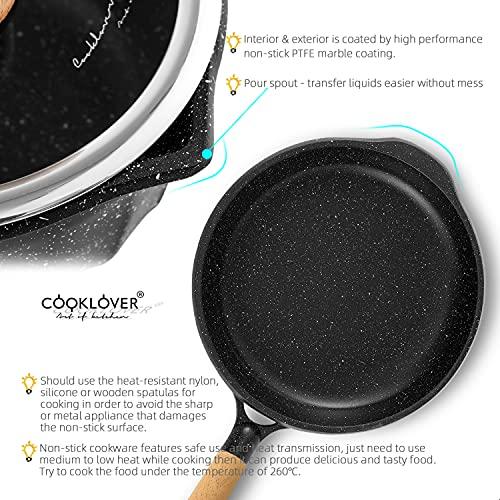 Product Image 4: Cookware Set Nonstick 100% PFOA Free <a href=