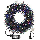MZD8391 105FT 300LEDs Christmas Lights Outdoor Indoor String Lights 8 Modes Memory Function for...