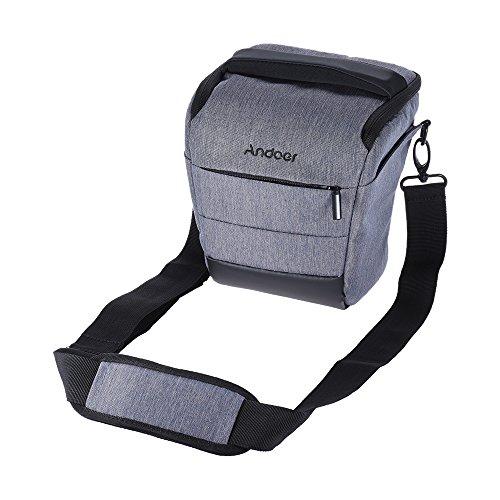 Andoer Borsa Reflex Portatile Borsa a Tracolla Borsetta per Canon Nikon Sony Fujifilm Olympus Panasonic ecc