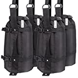 Leader Accessories 4Pcs/Pack Weight Bags Canopy Weights Sand Bags 30lbs/pc Upgraded Huge Capacity