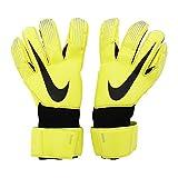 Nike Grip3 Goalkeeper Soccer Gloves (10, Volt)