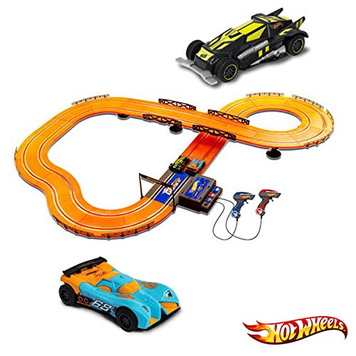 Pista Hot Wheels Track Set Multikids Laranja 380 cm