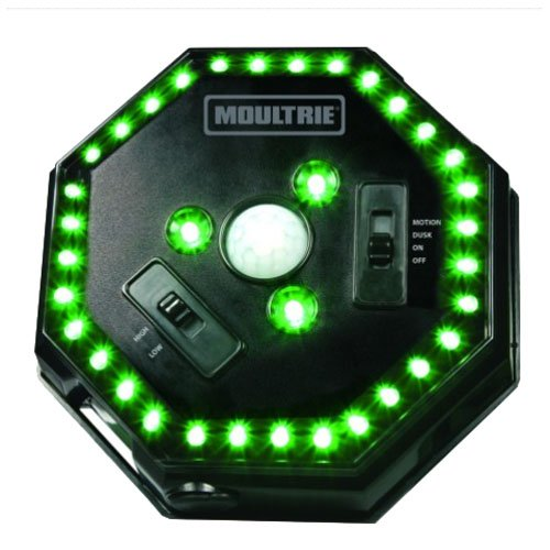Moultrie Feeder Hog Light | 35 LEDs | 4-Way Switch | Attaches to Most MOU Feeders