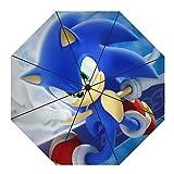 Rgfkjgnbf Sonic The Hedgehog Bud Parapluie et Un Parapluie de Protection...
