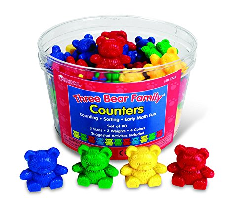 Learning Resources Counting Bears
