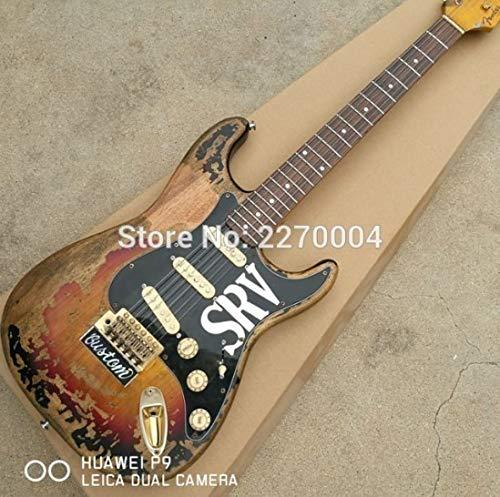レリック加工済 ヴィンテージ風ギター 39インチ 本体のみ 職人手作り