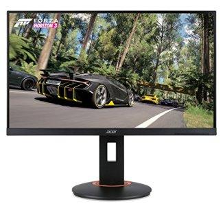 Acer XF250Q Cbmiiprx 24.5' Full HD (1920 x 1080) Zero Frame TN Gaming AMD FreeSync Compatible Monitor - 1ms | 240Hz Refresh (Display, HDMI 2.0, HDMI 1.4 ports),Black
