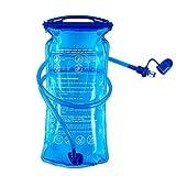 B-Earth Poche Hydratation, 3 L 2 L 1,5 L Grand réservoir d'eau à Ouverture de 3 litres, étanche...