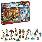 LEGO- City Calendario dell'Avvento Set di Costruzione, Multicolore, 60235