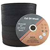 50 PCS Cut Off Wheel 6 Inch 6'x.047'x7/8' Cutting Disc for Angle Grinder Ultra Thin Metal & Stainless Steel