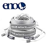 ENO - Eagles Nest Outfitters Helios XL Ultralight Hammock Straps Suspension System with Storage Bag, 300 LB Capacity, 13'5' x 1'
