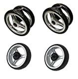Baby Jogger City Mini Double Complete Wheel Set (Set of 4)