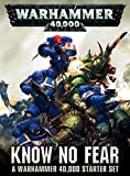 GAMES WORKSHOP 60010199017' Warhammer 40000 Know No Fear English Model Game