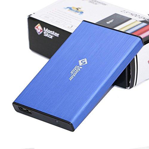 MasterStor - Hard disk esterno, unit di disco rigido esterna, portatile, con USB 3.0, super-rapido,...