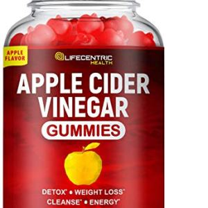 Apple Cider Vinegar Gummies with The Mother   Delicious Alternative to Apple Cider Vinegar Capsules & Apple Cider Vinegar Pills for Weight Loss   100 Count Gluten-Free Organic Unfiltered ACV Gummies 8 - My Weight Loss Today