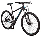 Schwinn Moab 3 Adult Mountain Bike, Mens Small Aluminum Frame, 24 Speeds, 29-Inch Wheels, Hydraulic Disc Brakes, Black