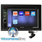 Kenwood DDX575BT in-Dash 2-DIN 6.2' Touchscreen DVD Receiver with Waze, Spotify, Pandora, and YouTube Integration via Weblink
