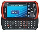 LG Xpression C395 Unlocked GSM Slider Cell Phone with Touchscreen + Full QWERTY Keyboard - Red